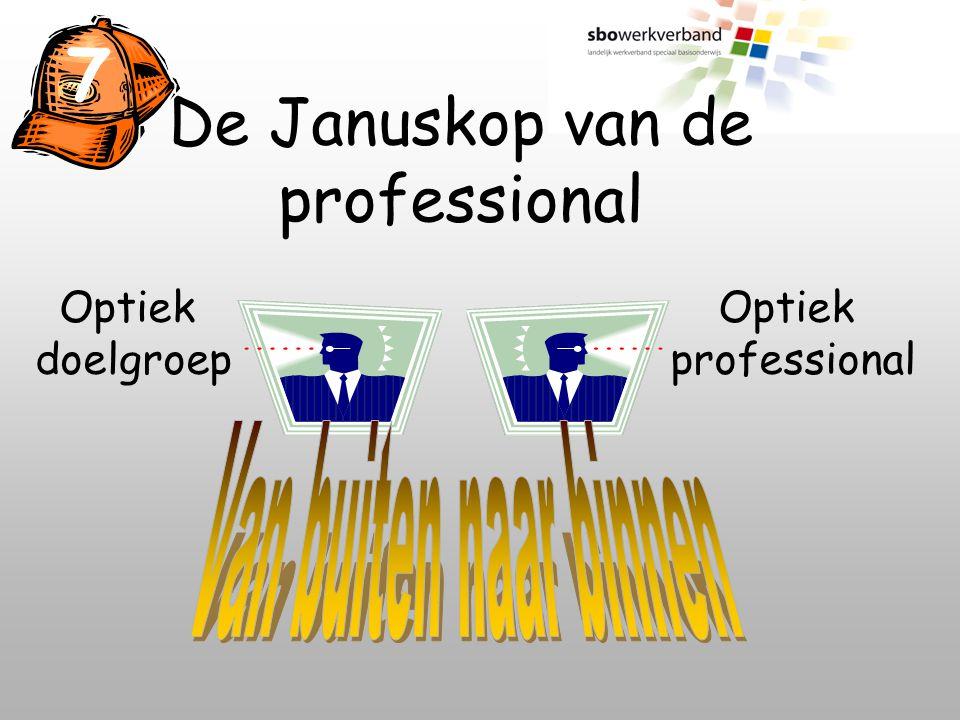 De Januskop van de professional