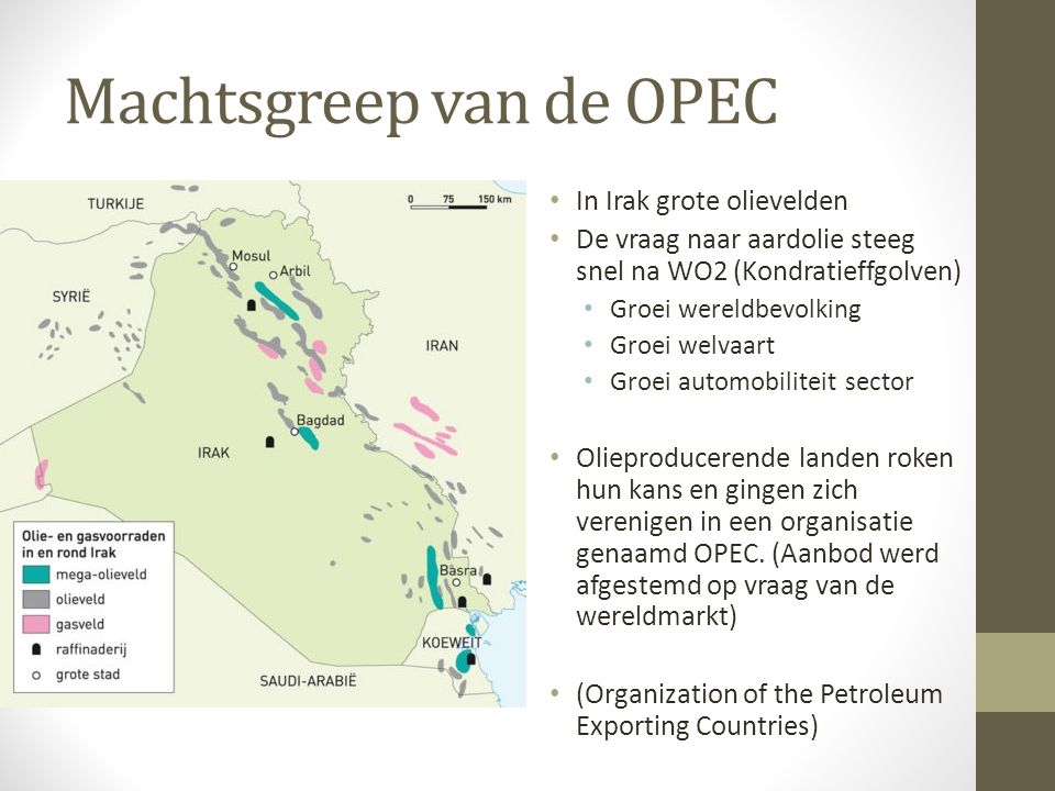 Machtsgreep van de OPEC