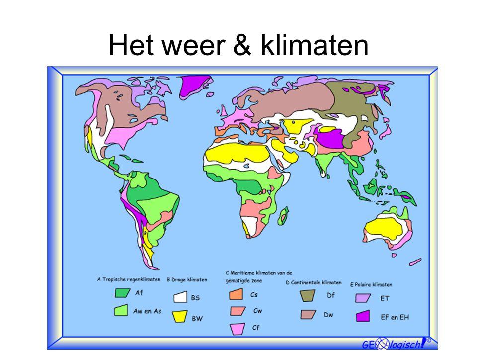 Het weer & klimaten