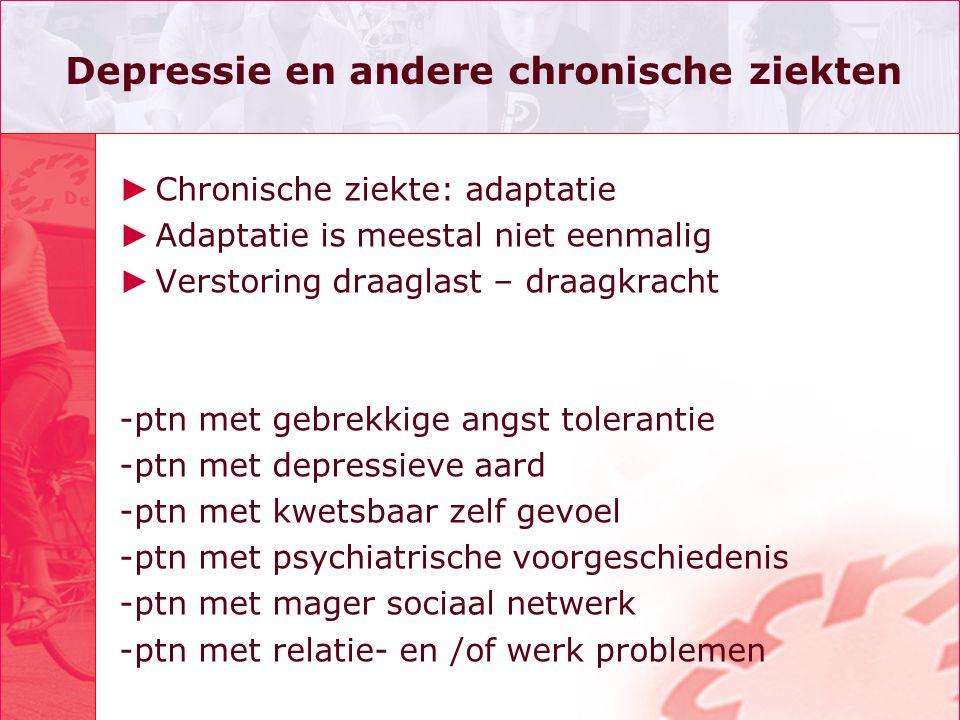 Depressie en andere chronische ziekten