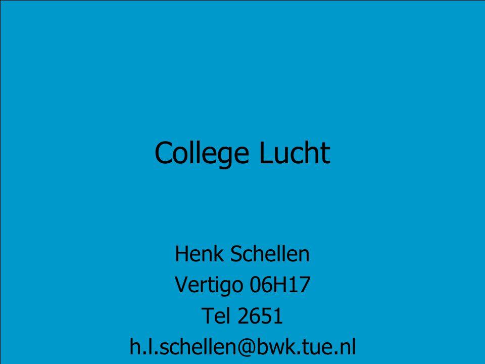 Henk Schellen Vertigo 06H17 Tel 2651 h.l.schellen@bwk.tue.nl