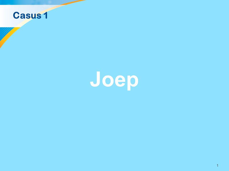 Casus 1 Joep