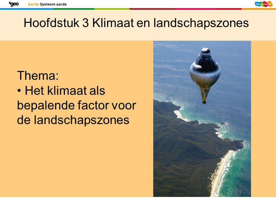 Hoofdstuk 3 Klimaat en landschapszones