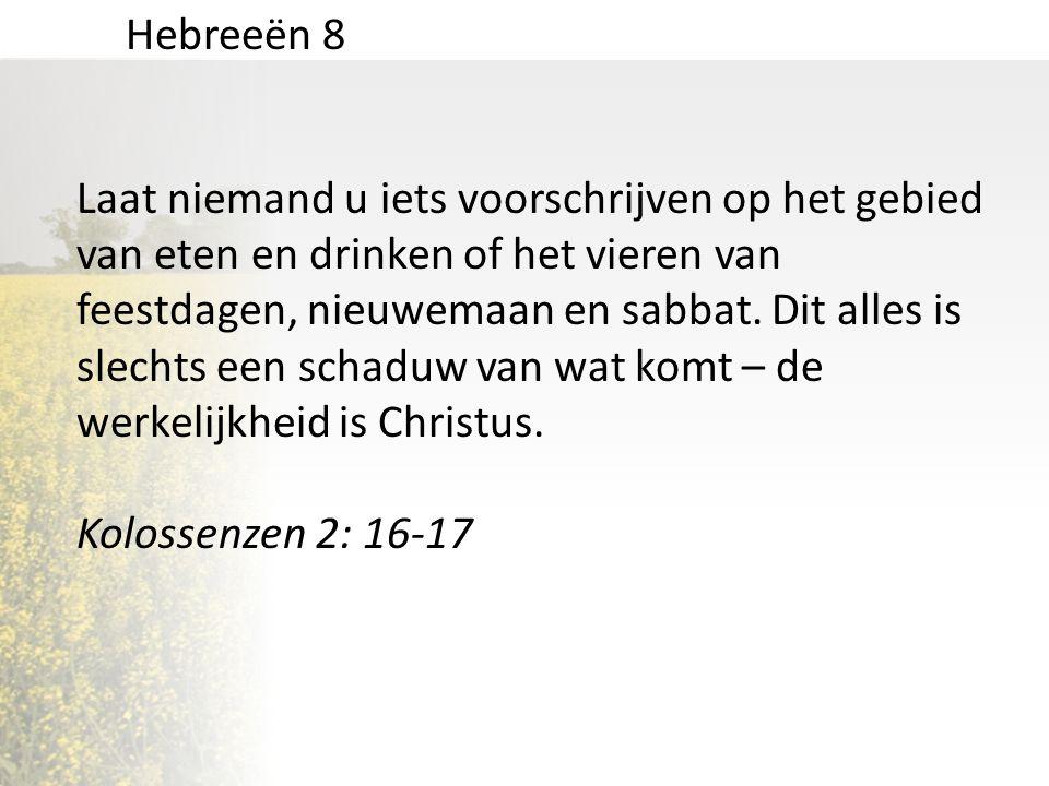 Hebreeën 8