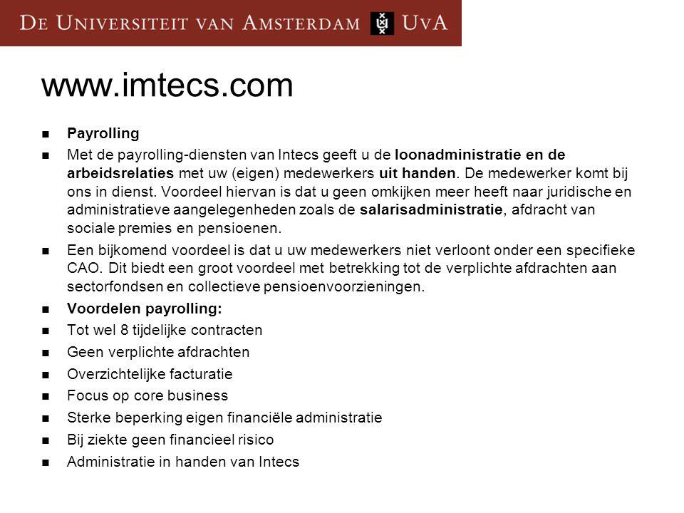 www.imtecs.com Payrolling