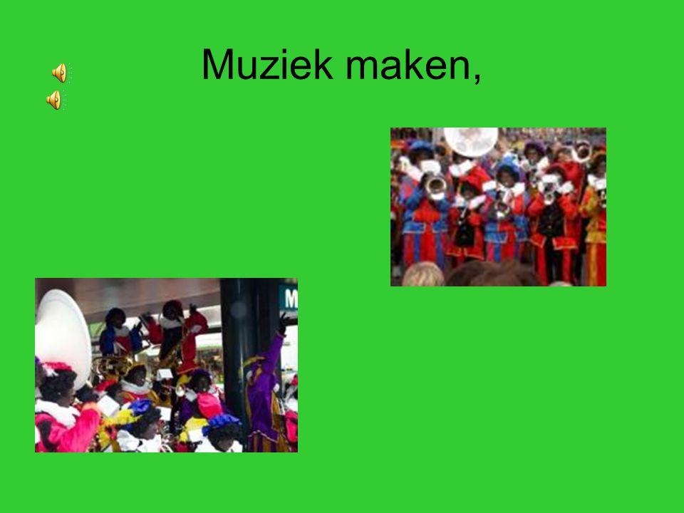 Muziek maken,