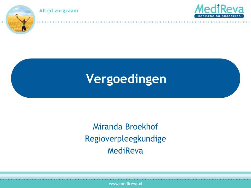 Miranda Broekhof Regioverpleegkundige MediReva