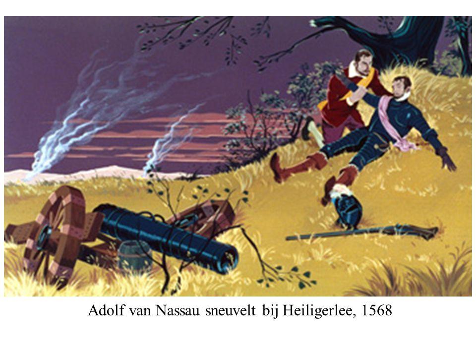 Adolf van Nassau sneuvelt bij Heiligerlee, 1568