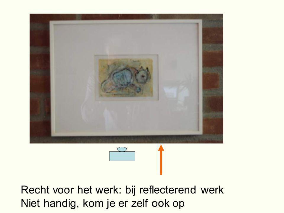 Recht voor het werk: bij reflecterend werk