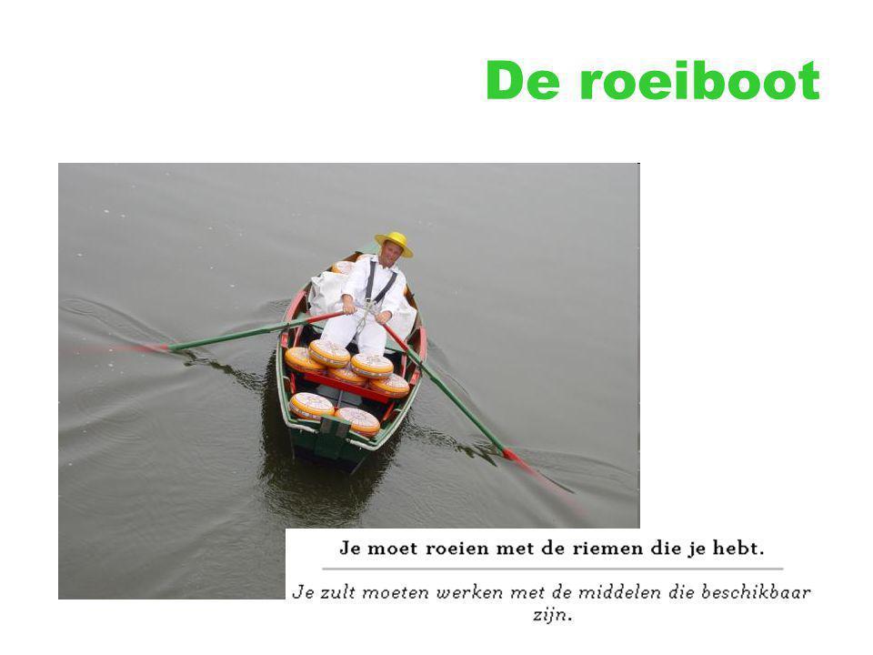De roeiboot