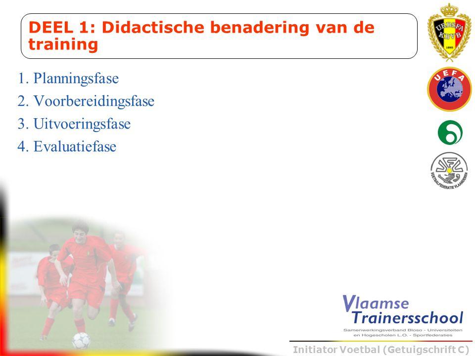 DEEL 1: Didactische benadering van de training