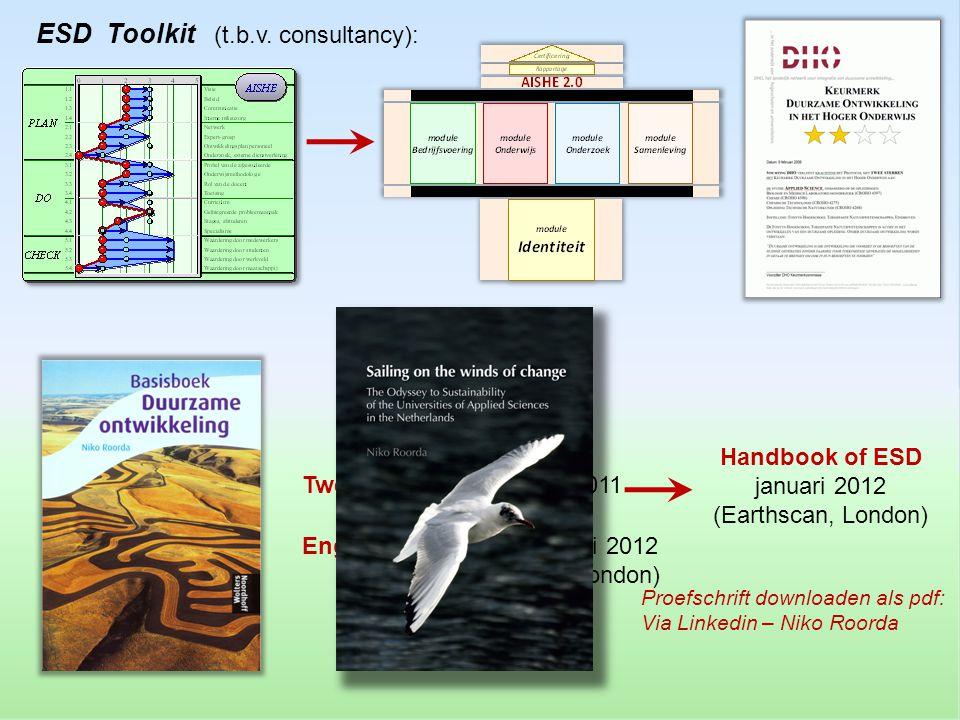 Handbook of ESD januari 2012 (Earthscan, London)