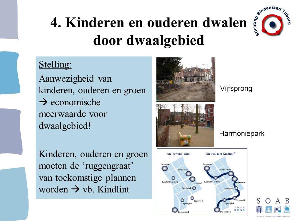 4. Kinderen en ouderen dwalen door dwaalgebied