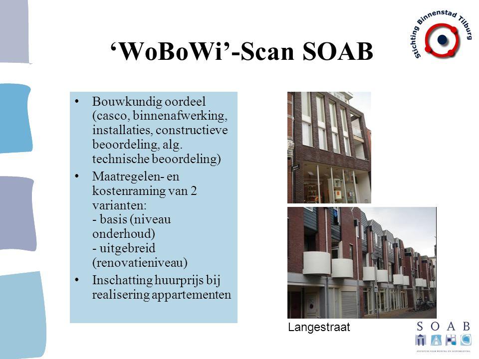 'WoBoWi'-Scan SOAB Bouwkundig oordeel (casco, binnenafwerking, installaties, constructieve beoordeling, alg. technische beoordeling)