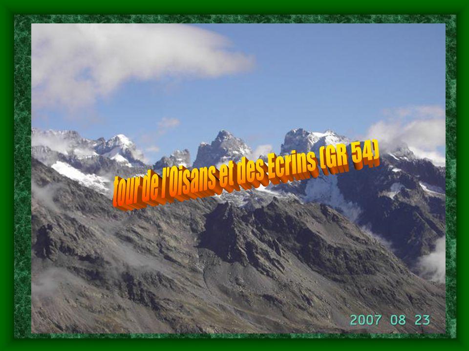 tour de l Oisans et des Ecrins (GR 54)