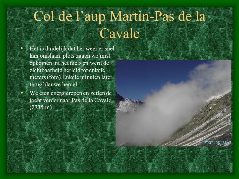 Col de l'aup Martin-Pas de la Cavale