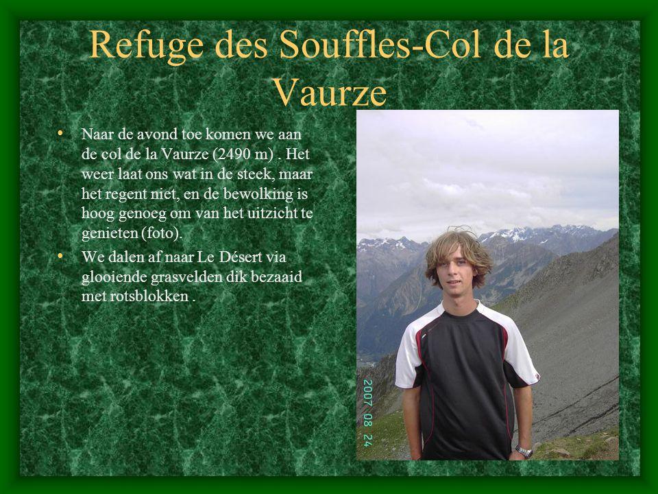 Refuge des Souffles-Col de la Vaurze