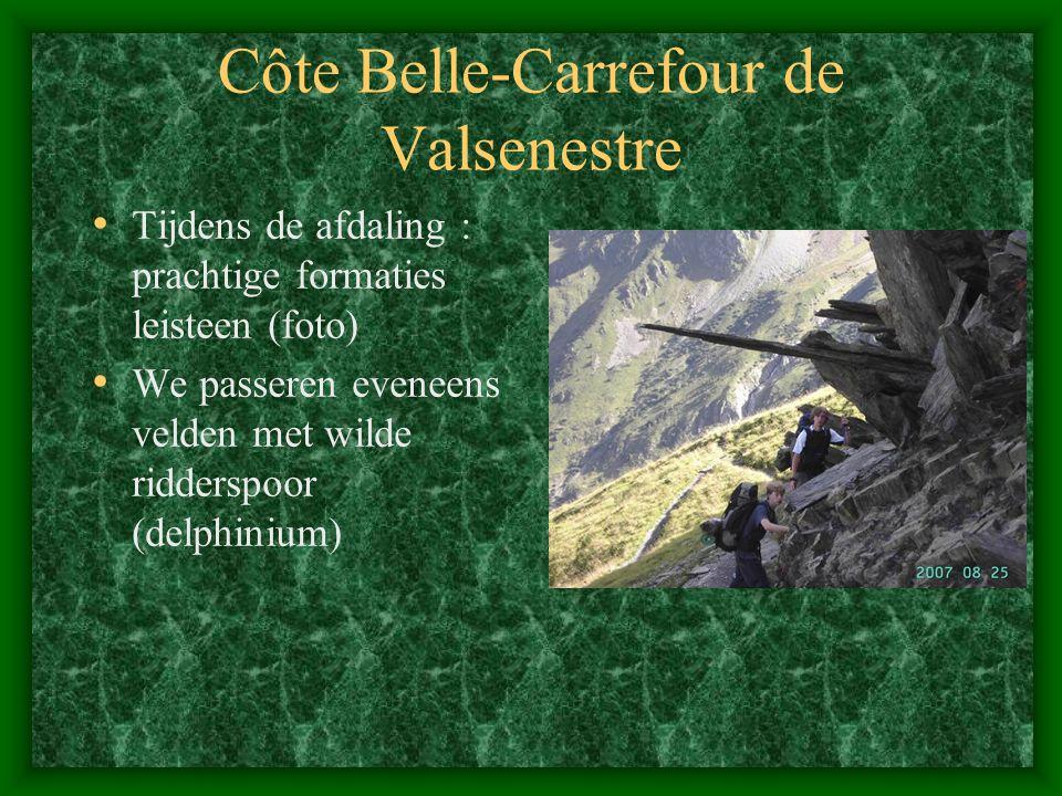 Côte Belle-Carrefour de Valsenestre