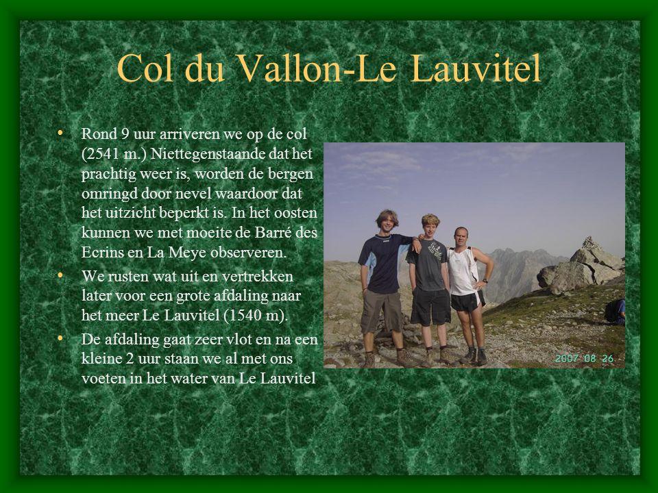 Col du Vallon-Le Lauvitel