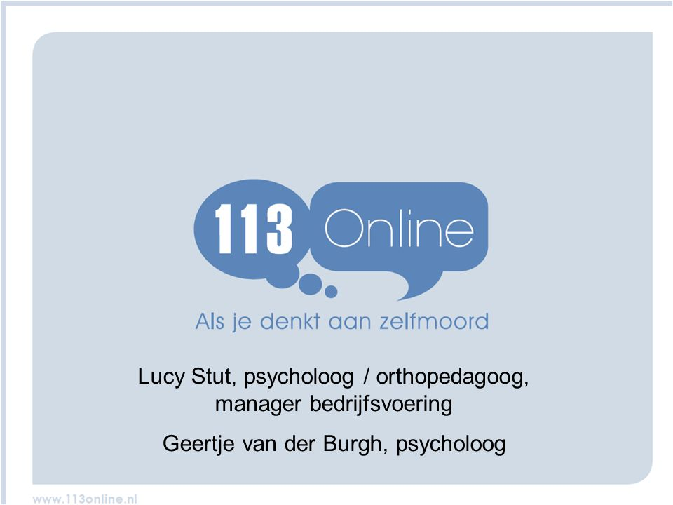 www.www. Lucy Stut, psycholoog / orthopedagoog, manager bedrijfsvoering.