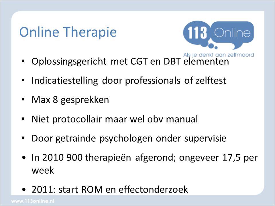 Online Therapie Oplossingsgericht met CGT en DBT elementen