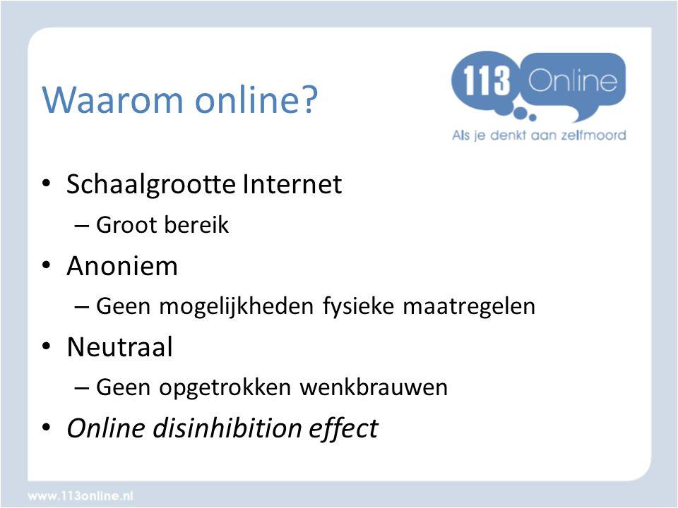 Waarom online Schaalgrootte Internet Anoniem Neutraal
