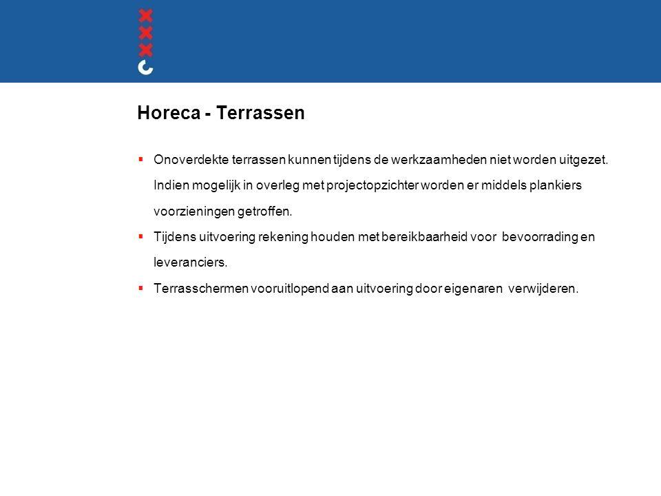 Horeca - Terrassen