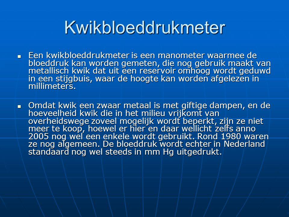 Kwikbloeddrukmeter