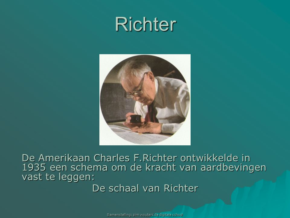 Samenstelling: pim wouters.de digitale school
