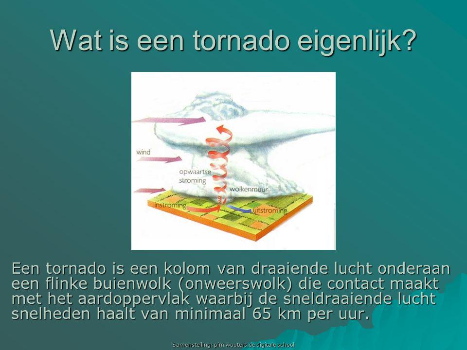 Wat is een tornado eigenlijk