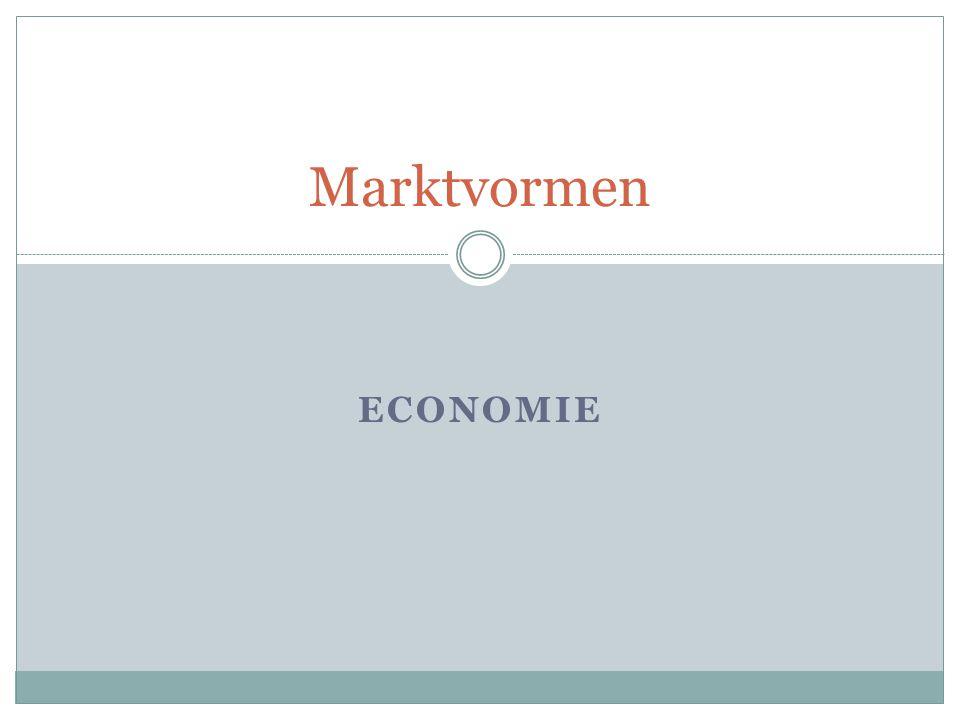 Marktvormen Economie