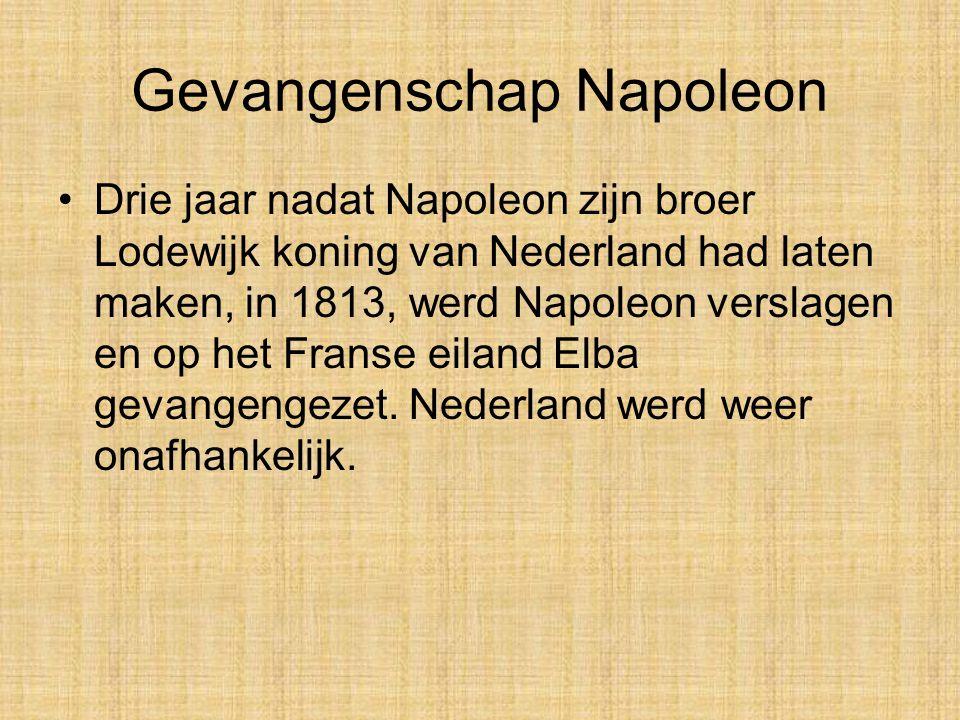 Gevangenschap Napoleon