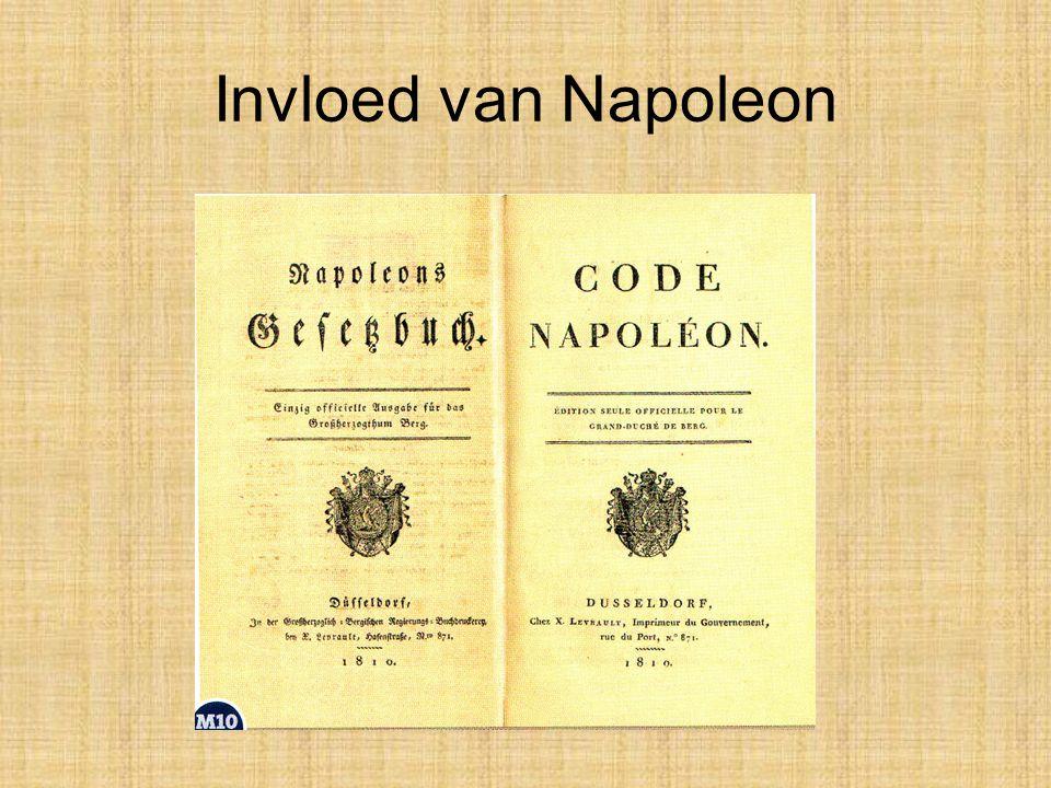 Invloed van Napoleon