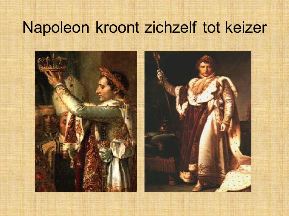 Napoleon kroont zichzelf tot keizer