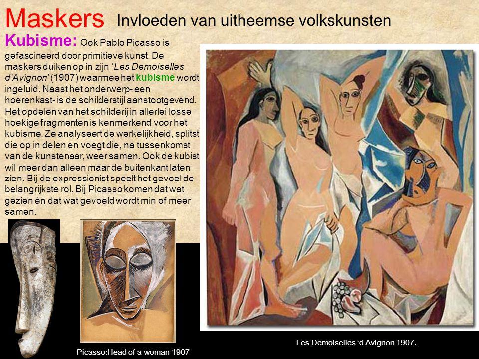 Maskers Invloeden van uitheemse volkskunsten