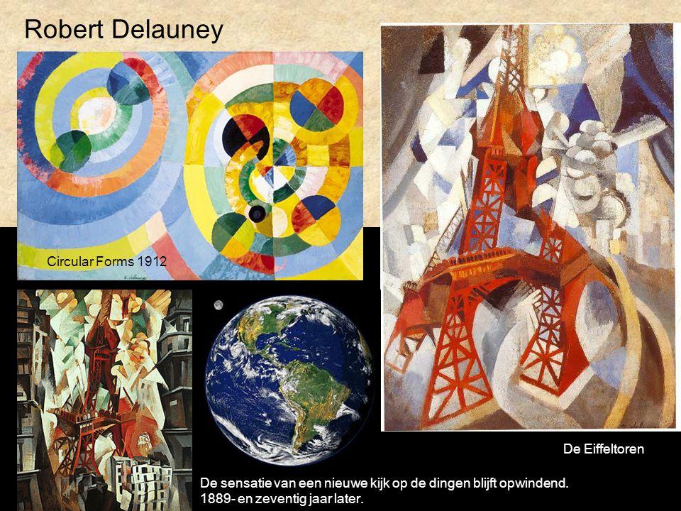 Robert Delauney Circular Forms 1912 De Eiffeltoren