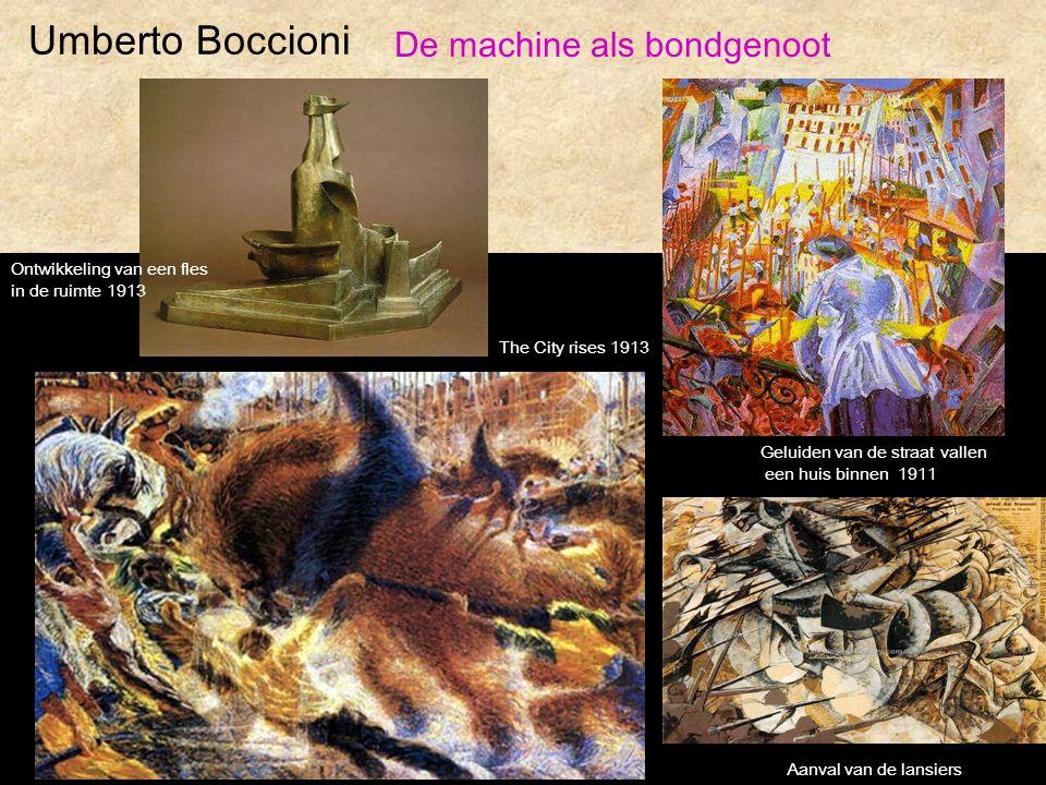 Umberto Boccioni De machine als bondgenoot