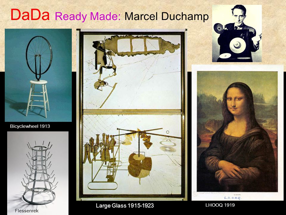 DaDa Ready Made: Marcel Duchamp