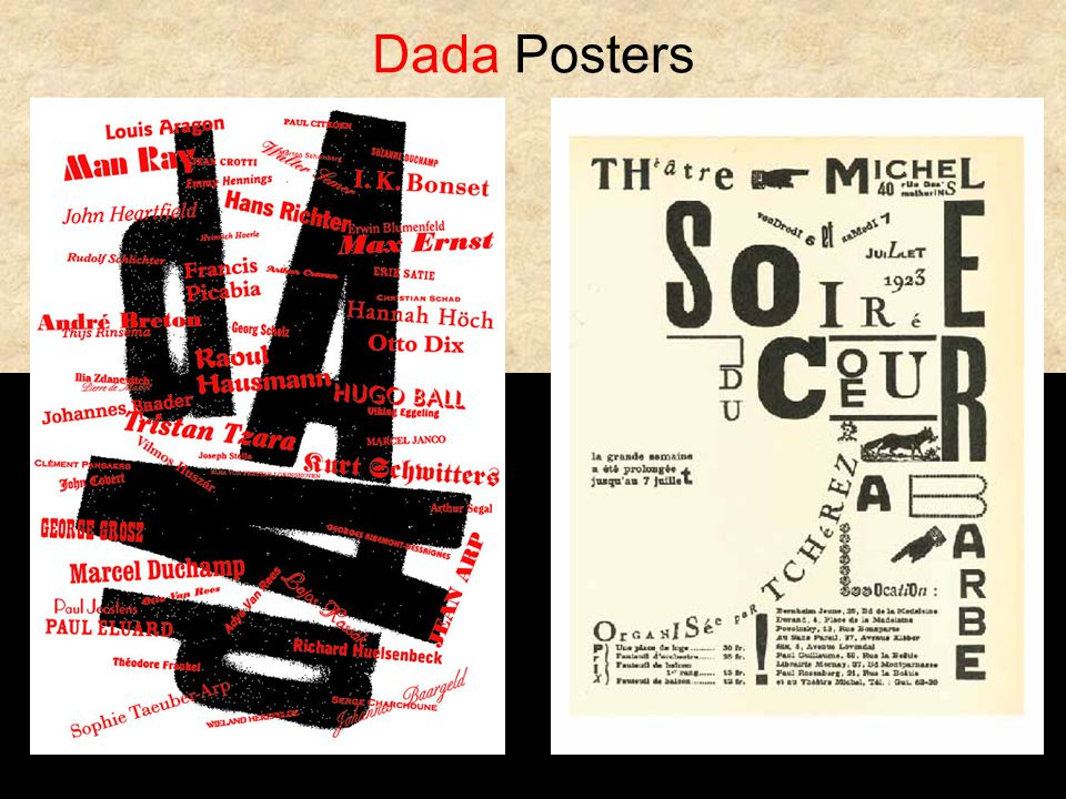 Dada Posters