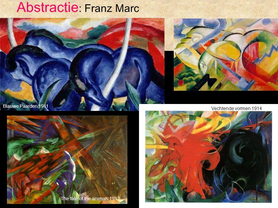 Abstractie: Franz Marc