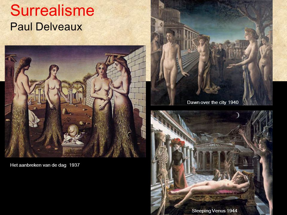 Surrealisme Paul Delveaux