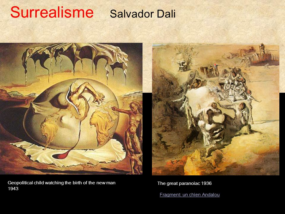 Surrealisme Salvador Dali