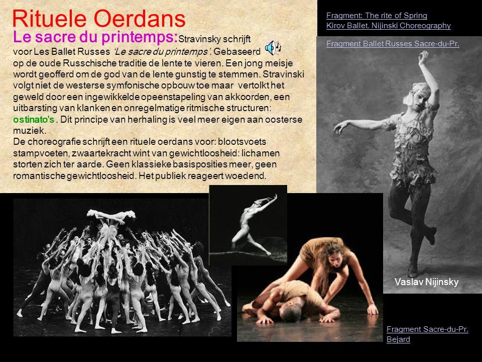 Rituele Oerdans Fragment: The rite of Spring Kirov Ballet. Nijinski Choreography.
