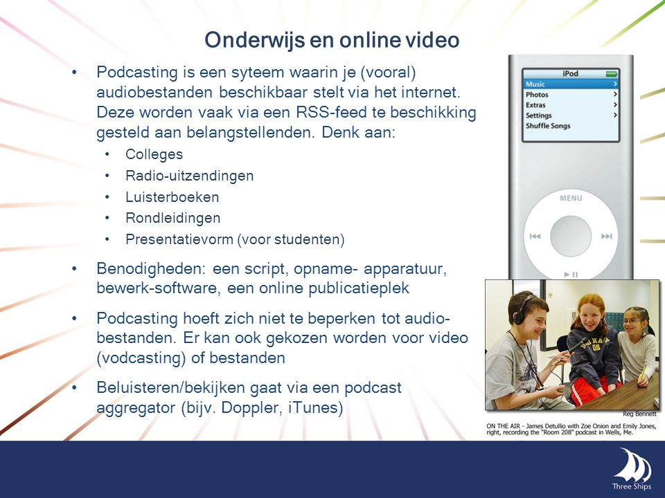 Onderwijs en online video