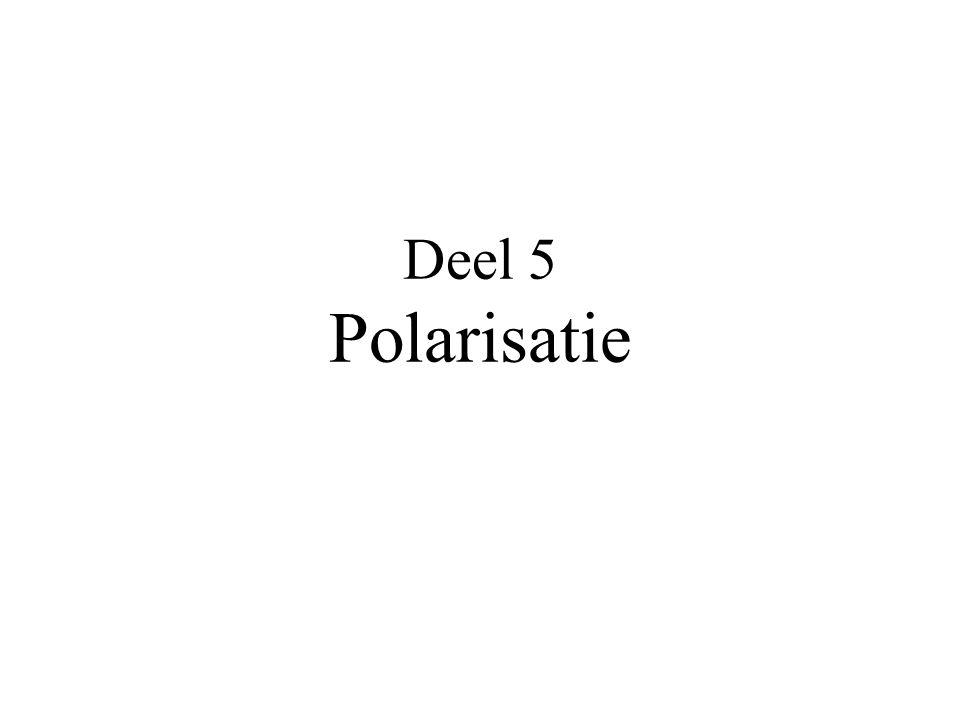 Deel 5 Polarisatie