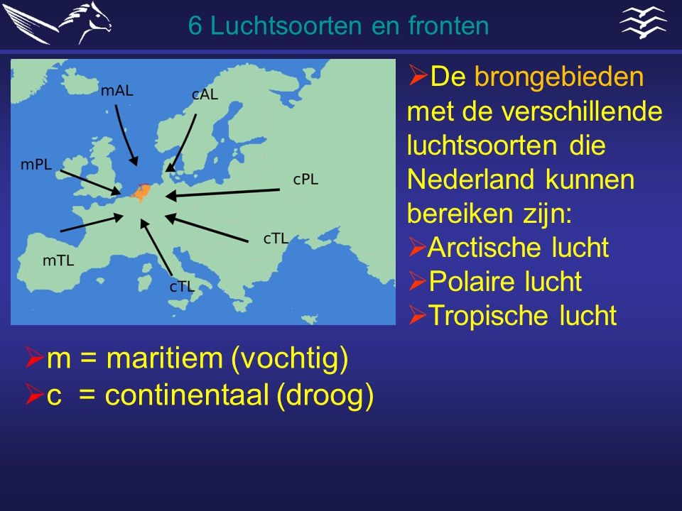 c = continentaal (droog)