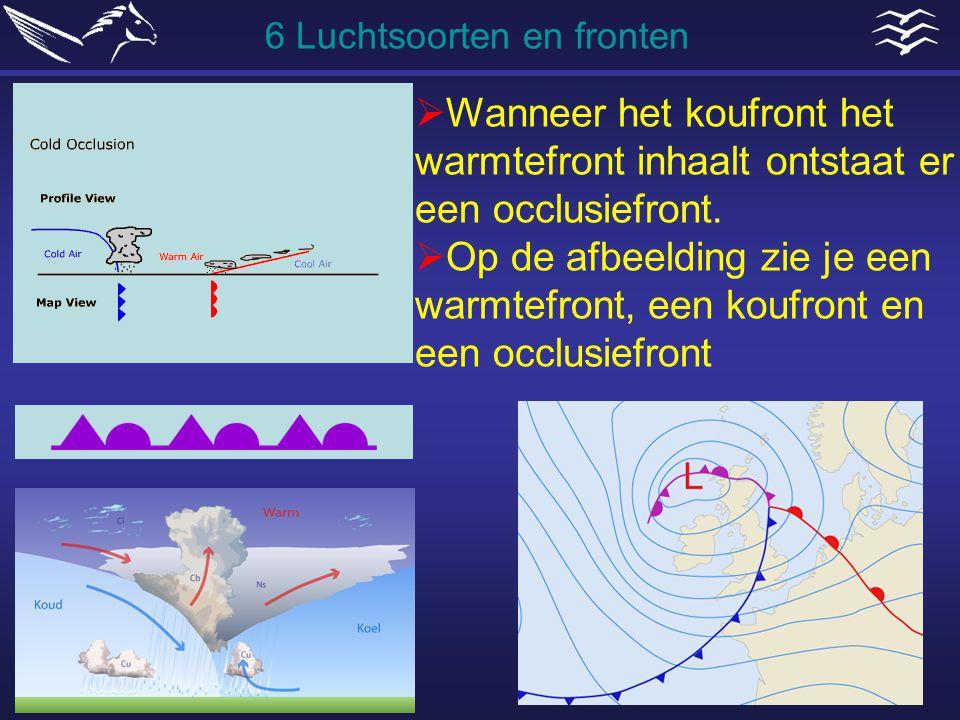 6 Luchtsoorten en fronten