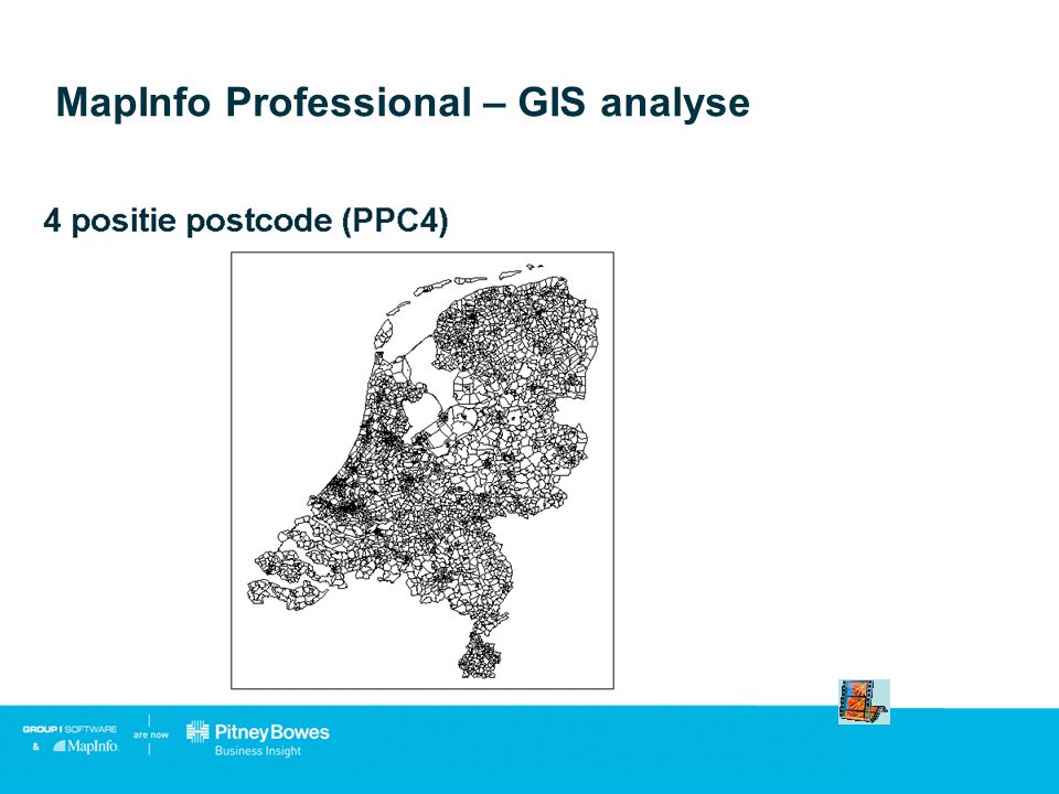 MapInfo Professional – GIS analyse