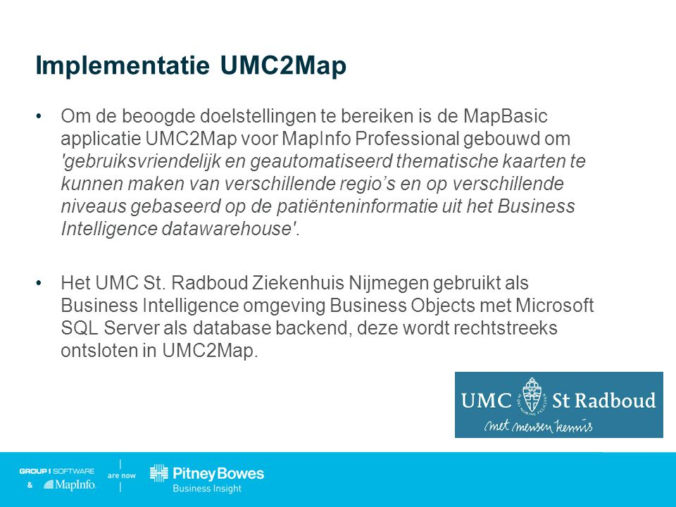 Implementatie UMC2Map