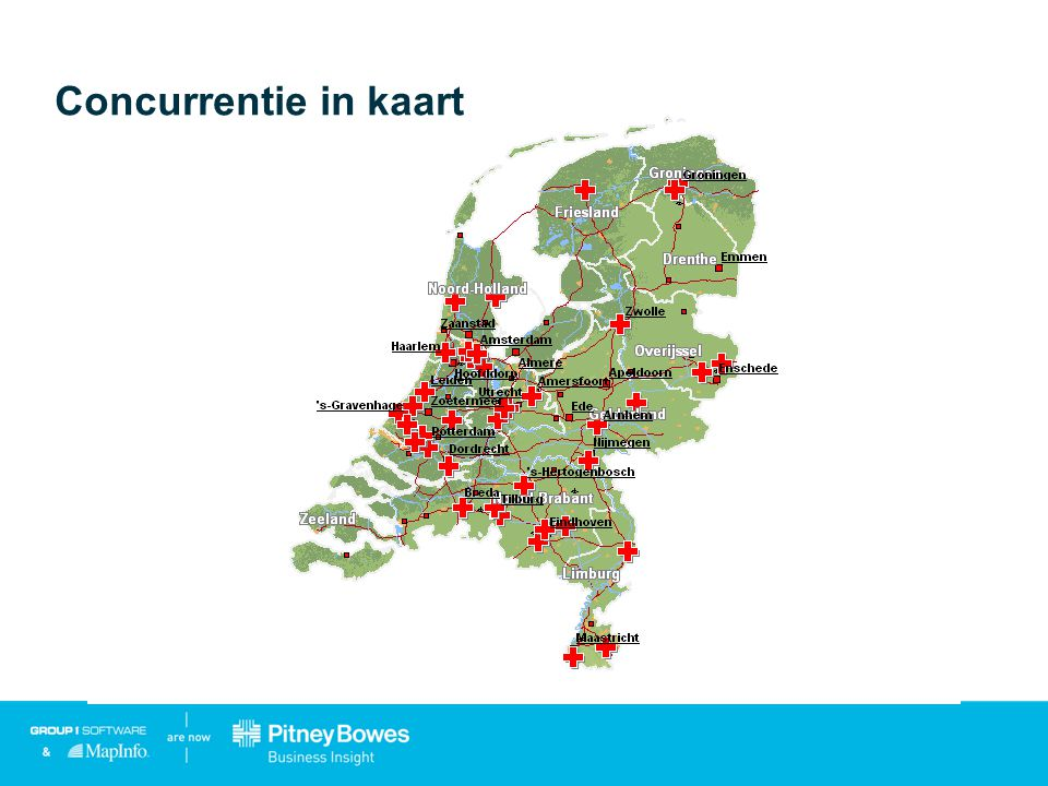 Concurrentie in kaart